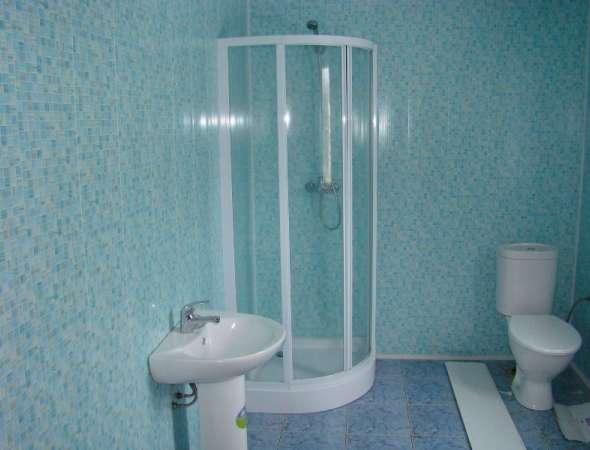 Отделка ванной сайдингом фото